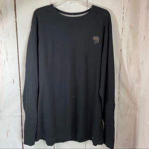 Mountain hardware Large Black long slv shirt